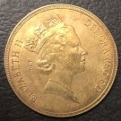 1985 United Kingdom 5 Pounds - Elizabeth II (3rd portrait; Sovereign series) Gold Copy Coin