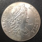 1669 United Kingdom Crown Silver Plated Copy Coins