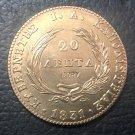 1831 Greece 20 Lepta-Loannis Kapodistrias Copper Copy Rare Coin