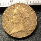 1760Ireland 1 Farthing - George II Copy Coin