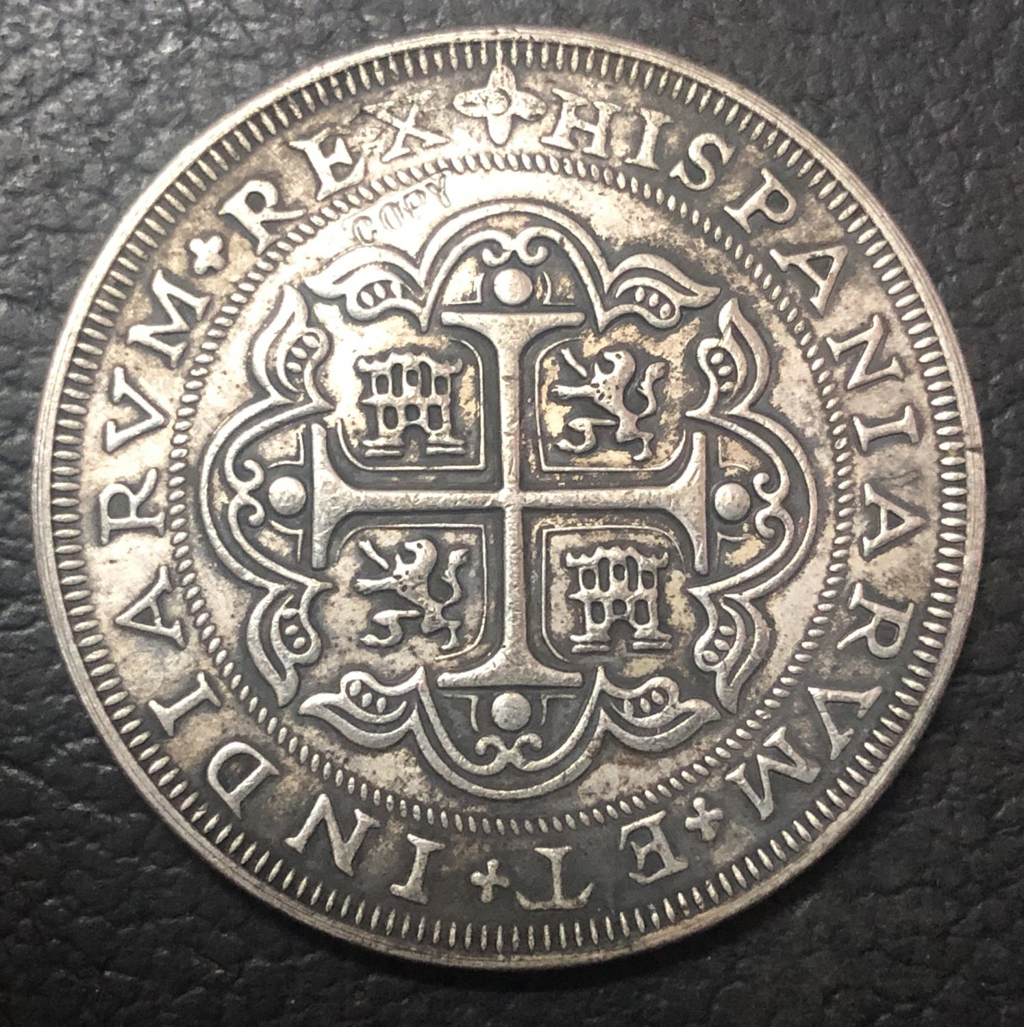 1706 Mexico 8 Reales - Felipe V Copy Coin
