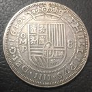 1640	Mexico 8 Reales - Felipe IV Copy Coin