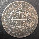 1716 Mexico 8 Reales - Felipe V Copy Coin