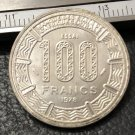 1978 Central African Republic 100 Francs Nickel Copy Coin