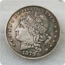 1879 $1 Goloid Metric Dollar Copy Coin No Stamp
