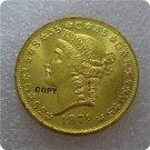 1879 $20 (Twenty Dollar) Patterns Gold Copy Coin No Stamp