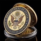 USA Department Of State Embassy Paris France Tower Souvenir Challenge Coin