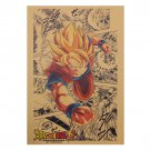 Dragon Ball Poster Cafe Bars Kitchen Decor Posters Adornment Vintage Poster 51.5X36cm