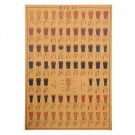 Vintage Kraft Beer Poster Bar Cafe Wall Sticker Wall Decorative Plates Poster 50x35cm