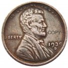 US 1939-D Lincoln Head One Cent Penny Copy Coin