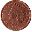 US 1899 Indian Head One Cent Copper Copy Coins