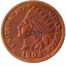 US 1903 Indian Head One Cent Copper Copy Coins