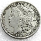US 1899-P Morgan Dollar Copy Coin