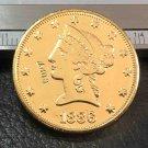 US 1886-S Liberty Head Ten Dollars Copy Coin