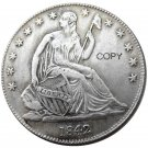 US 1842 Seated Liberty Half Dollars Copy Coin