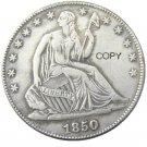 US 1850 Seated Liberty Half Dollars Copy Coin