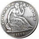 US 1859 Seated Liberty Half Dollars Copy Coin