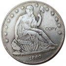 US 1860 Seated Liberty Half Dollars Copy Coin