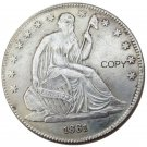 US 1861 Seated Liberty Half Dollars Copy Coin