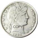 US 1905 Barber Half Dollar Copy Coin