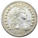 USA 1796 Draped Bust Quarter Dollar Copy Coin