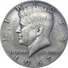 US 1967 Liberty 1/2 Kennedy Half Dollar Copy Coin