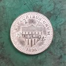 US 1896 Liberty Shield 5 Cents Nickel Copy Coin