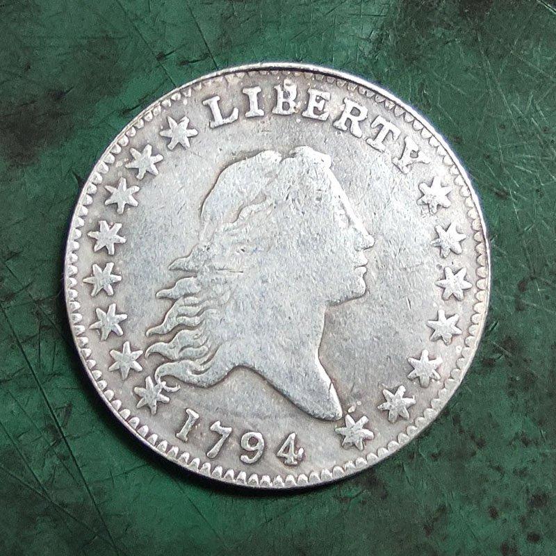 US 1794 Flowing Hair Half Dollar Copy Coins