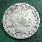US 1913-S Barber Quarter Dollars Copy Coin