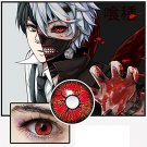 1 pair Naruto Tokyo Ghoul eyes contacts Coloured lenses eye Makeup halloween cosplay props gifts