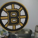 Boston Bruins Wood Fir Logo