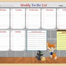 Weekly To-Do-List Printable