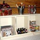 Handmade Wood Coop Bin Storage Unit
