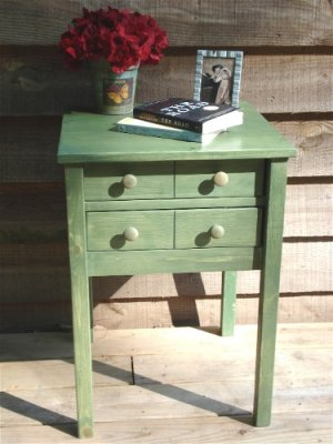 Handmade Apothecary Table / Nightstand