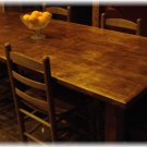 Handmade Pine Farm Table Seats 8 -- Free Shipping