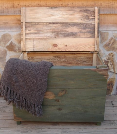 Handmade Blanket Chest / Toy Box