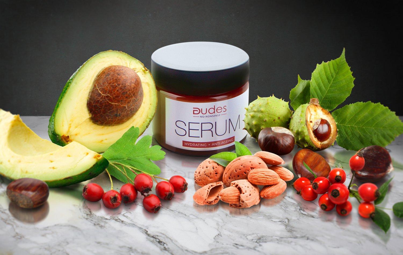 Dudes No Nonsense Anti-ageing Serum   50 ml   Protects skin prone to thread veins   PET