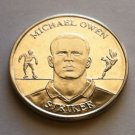 2004 Michael Owen Official England Squad Medal