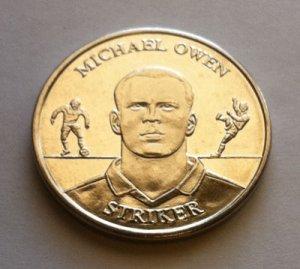 2004 Michael Owen Official England Squad Medal