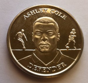 2004 Ashley Cole Official England Squad Medal