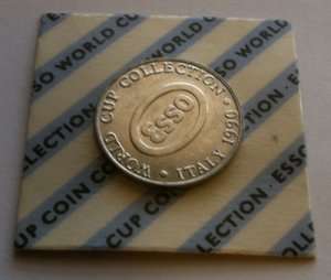 Sealed coin - 1990 Esso World Cup Collection