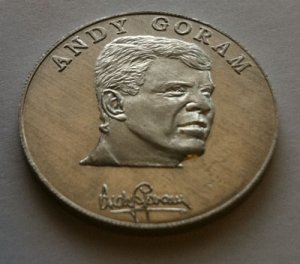 Andy Goram - 1990 Esso World Cup Collection