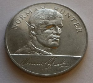 Norman Hunter - 1970 England World Cup Squad Medal