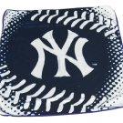 MLB Baseball Licensed New York Yankees Stitching Royal Plush Throw Blanket
