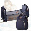 Baby Diaper Nappy Bag Stroller Portable Development Bed Travel Backpack For Mom