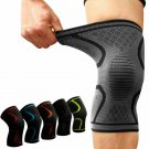 Knee Support Braces Elastic Nylon Sport Compression Pad Running Cycling Sleeve