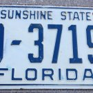 Nice 1957 Florida License Plate Broward County 10-37195 '57 FL tag