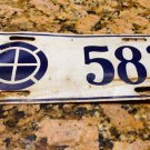 35th Infantry Division US Army License Plate Fort Leavenworth Kansas World War 2