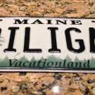 Maine DILIGAF license plate DILLIGAF do I Look Like I Give A F***? Haha