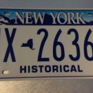 2007 New York HISTORICAL license plate CITY SKYLINE SEE MY OTHER PLATES & SIGNS!